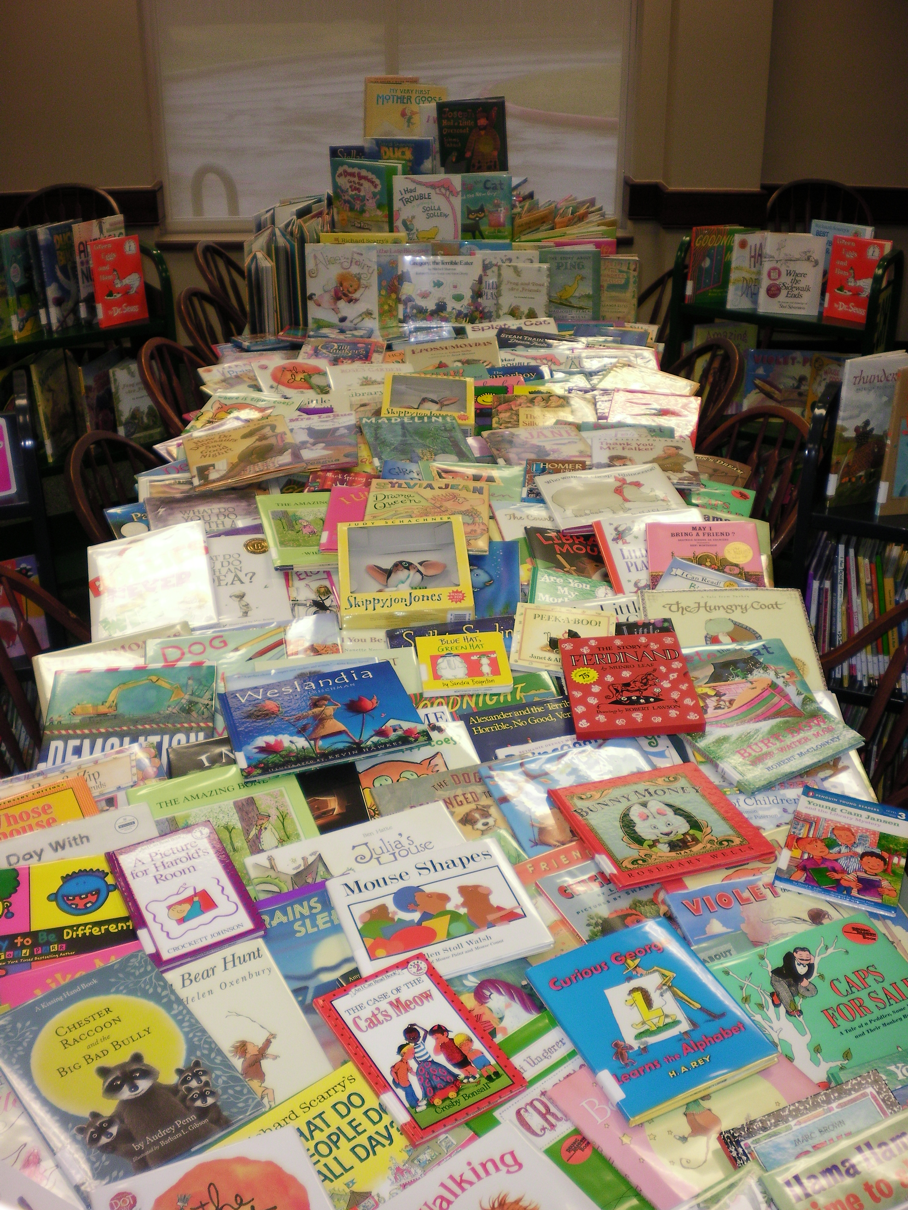 Image of Donated Books